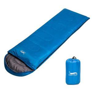 SAC DE COUCHAGE Sac de couchage adulte avec capuche de camping pou
