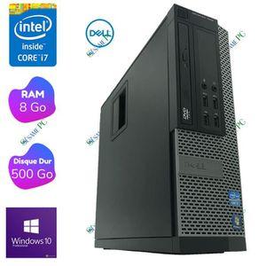 ORDI BUREAU RECONDITIONNÉ DELL Optiplex 7010 - Intel Core i7 3770 3.40 GHz -