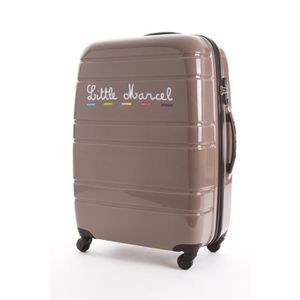 little marcel valise rigide malle grey 76cm achat. Black Bedroom Furniture Sets. Home Design Ideas