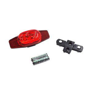 ECLAIRAGE POUR VÉLO Eclairage clignotant à LED avec catadioptre double