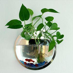 JARDINIÈRE - BAC A FLEUR Plante en pot Suspendus Wall-Bubble Acrylique Bol