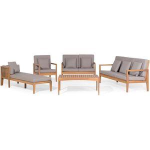 Ensemble table et chaise de jardin Ensemble de jardin - Salon en bois d acacia - Salo