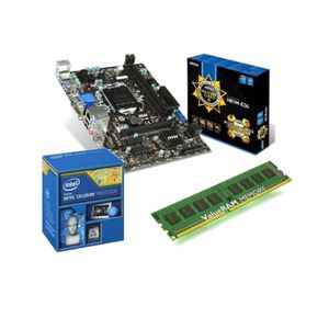 PACK COMPOSANT KIT Evo Pentium® G3240  + MSI H81M-E34 + Kingston