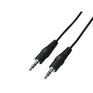 CÂBLE TV - VIDÉO - SON CLA075.1 Cable audio jack 0.75m male/male