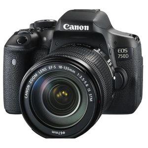 APPAREIL PHOTO RÉFLEX Canon EOS 750D Kit (18-135mm STM) Appareil photo n