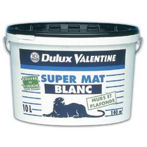 Dulux Valentine Val Plafond Supermat 10l Blanc Achat