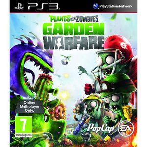 JEU PS3 Plants Vs Zombies Garden Warfare  (Playstation 3)