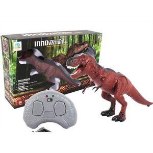 ROBOT - ANIMAL ANIMÉ Modèle de jouet de dinosaure à pied Lumière des ye