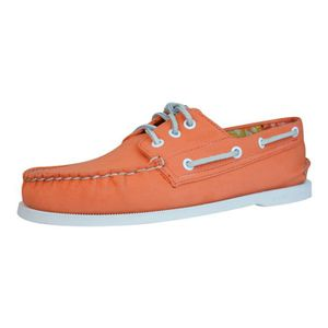 BATEAUX Sperry Top Sider A-O 3 Eye Canvas Chaussures batea
