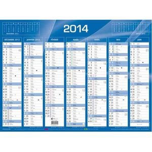 1 Calendrier Mural Equology 2019-430 x 335 mm QUO VADIS