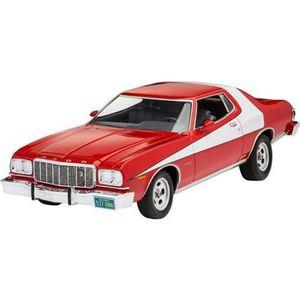 VOITURE À CONSTRUIRE Maquette voiture : '76 Ford Torino aille Unique Co