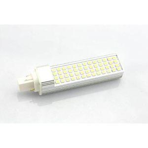 AMPOULE - LED AC110V-220V G24 5050 SMD 52 LED blanc froid 11W am