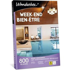 COFFRET SÉJOUR Wonderbox - Coffret cadeau en couple - Week-end bi