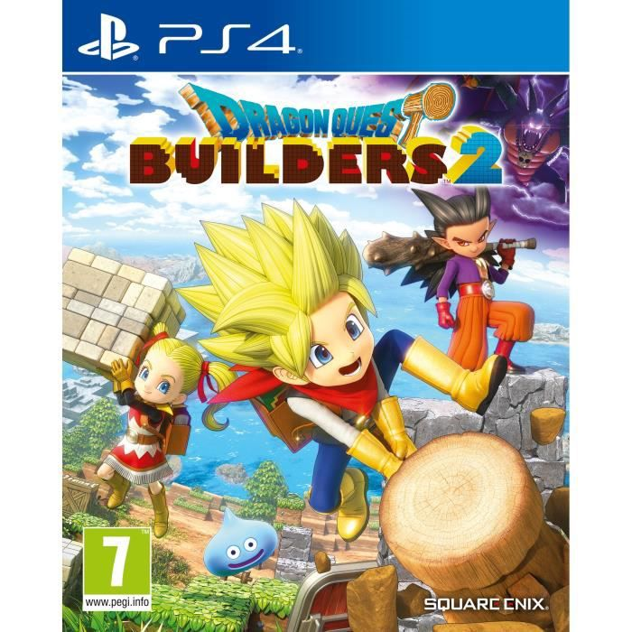 Dragon Quest Builders 2 Jeu PS4