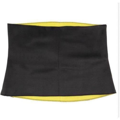 Ceinture d'entra?nement à la taille femmes Hommes Ventre Ventre Minceur Taille Abdomen Ceinture Body Shaper (XXL)-DUO