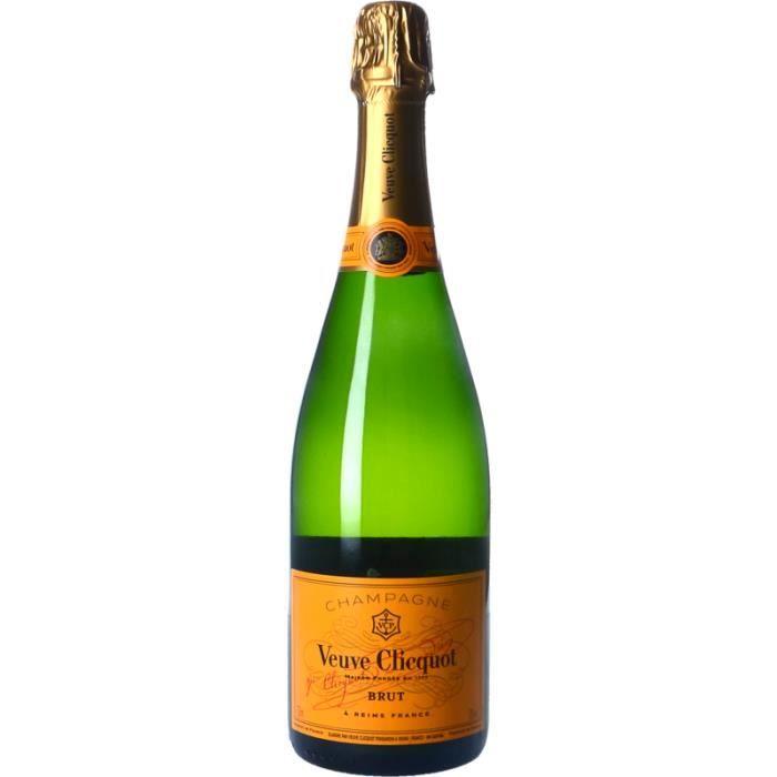 Champagne et Méthode Traditionnelle - Champagne Veuve Clicquot Brut Blanc