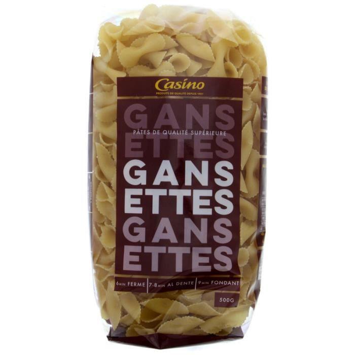 CASINO Pates Gansette - 500G
