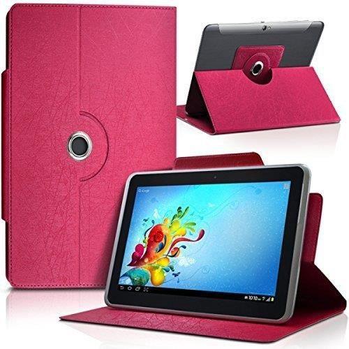 Housse Etui Universel S couleur Rose Fushia pour Tablette LAMZIEN enfant 7 pouces HD