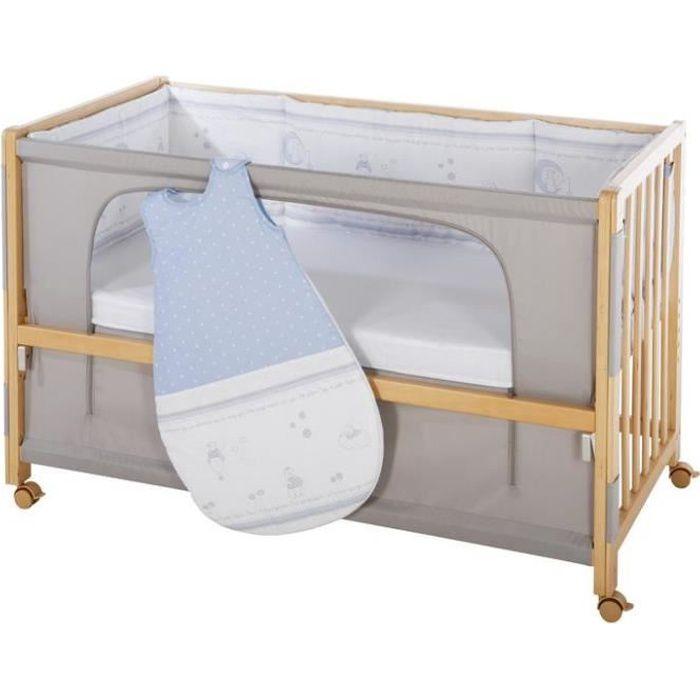ROBA Lit cododo -Gluecksengel- 60x120 cm, lit supplémentaire avec équipement