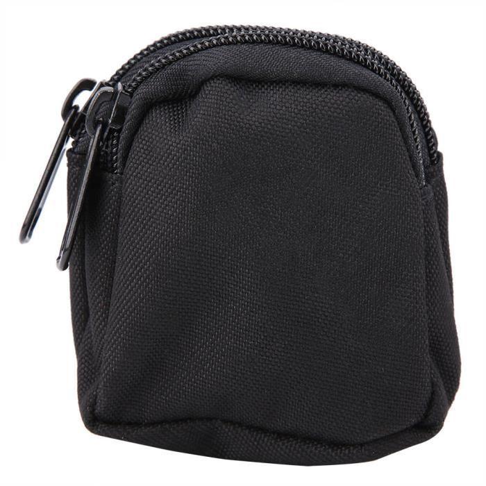 ZJCHAO sac de taille à glissière Sports Mini sac de mode en nylon imperméable à l'eau Pochette de rangement portable en plein