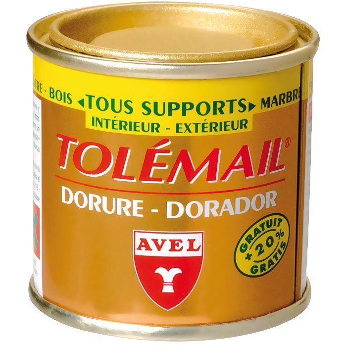 Dorure tolémail vieil or - 50 mL