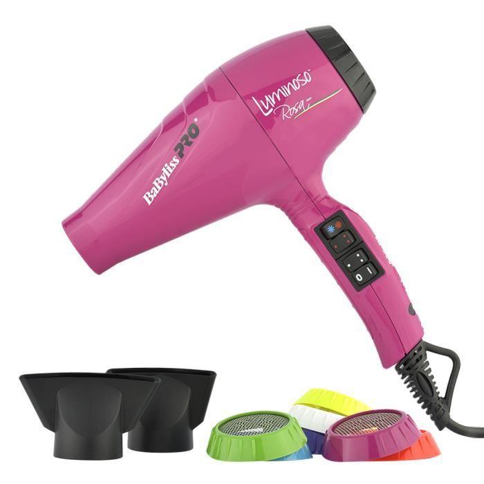 Sèche-Cheveux Luminoso Rose BaByliss PRO