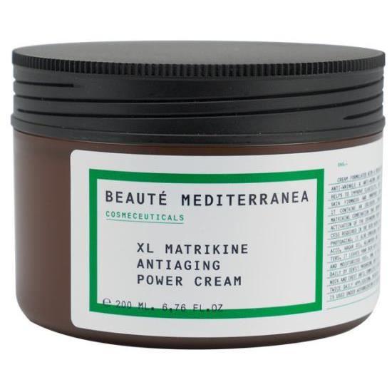 Beauté Mediterranea Xl Power matrikine Antiaging Cream 200 ml crème anti-age