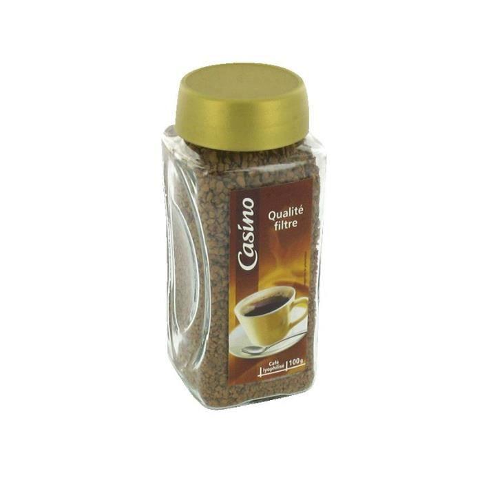 Café soluble lyophilisé - 100g
