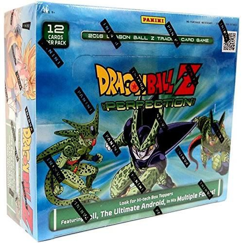 DBZ Dragonball Z Perfection Booster Box TCG 2016 Trading Card Game - 24 packs 12 cards