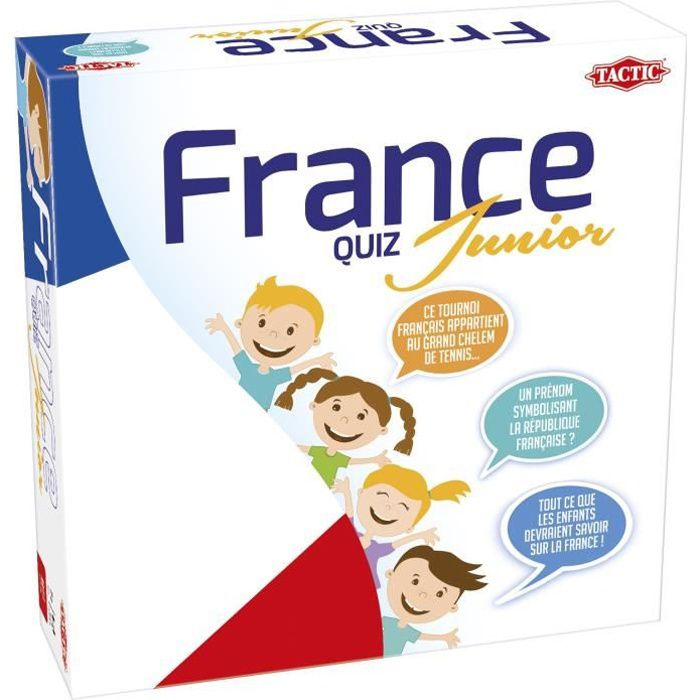 TACTIC - France quiz junior