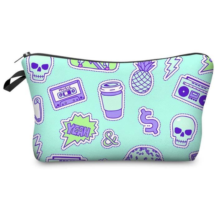 45087Teenagersdoodle Trousse de Toilette
