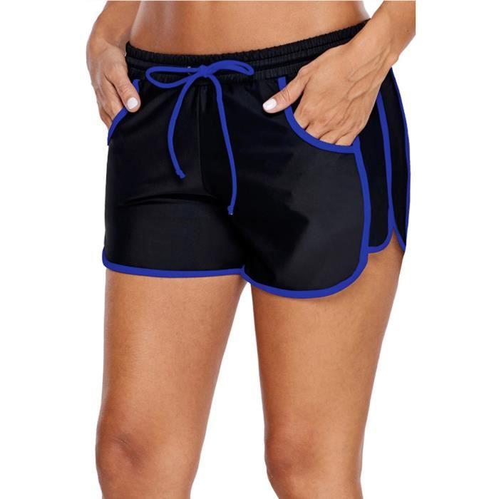 COMBINAISON DE NATATION Maillot de bain femme Shorts de bain Bikini Slip taille plus bas Boardshort Short de bain