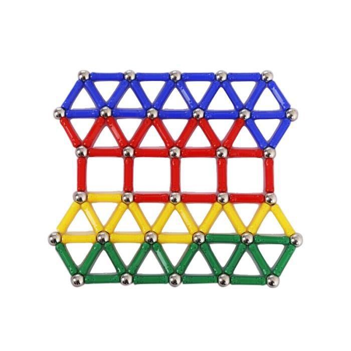 103pcs Blocs de Construction Bâtons Magnétiques Set Jouets éducatifs pour les Enfants
