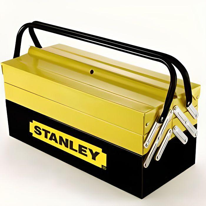Boîte à outils métallique 5 cases STANLEY