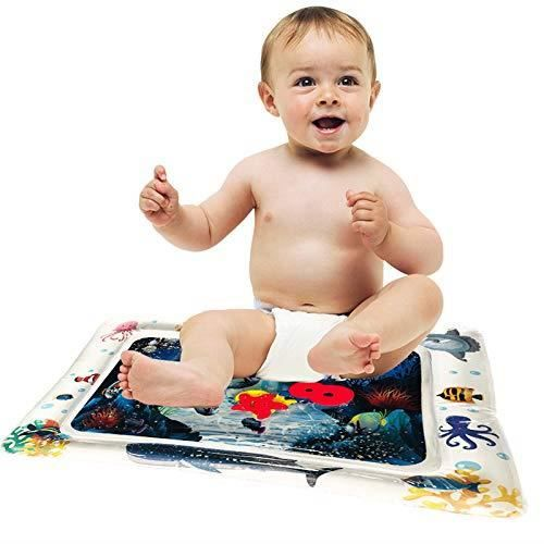 Le Tapis d'eau Gonflable de Temps de Ventre, Coussin tapassé d ection de Jeu Joue l'éducation précoce pour des Enfants de bébé ☺1225