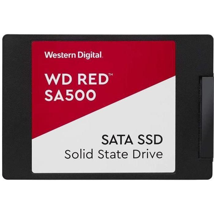 WESTERN DIGITAL Disque SSD SATA NAS Red™ SA500 (WDS100T1R0A)
