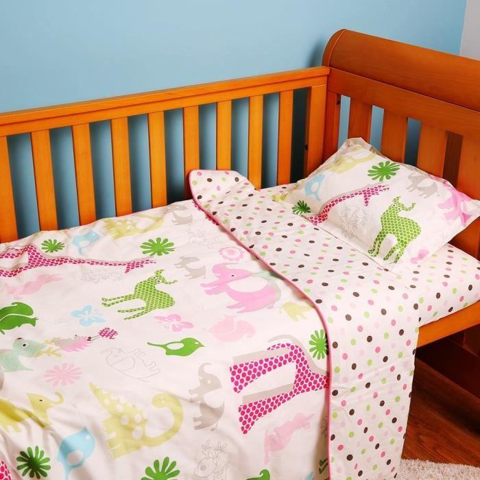 PARURE DE DRAP I-baby Parure de lit de lit de bébé Little Kids Ch