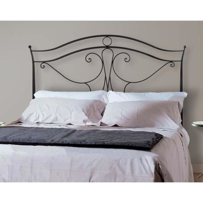 t te de lit en fer forg mod le viena achat vente. Black Bedroom Furniture Sets. Home Design Ideas