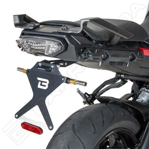 support de plaque barracuda yamaha mt 09 tracer achat vente plaque immatriculation support. Black Bedroom Furniture Sets. Home Design Ideas