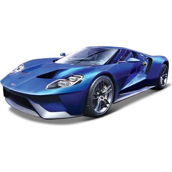 burago voiture ford gt bleue echelle 1 18 achat vente voiture camion cdiscount. Black Bedroom Furniture Sets. Home Design Ideas