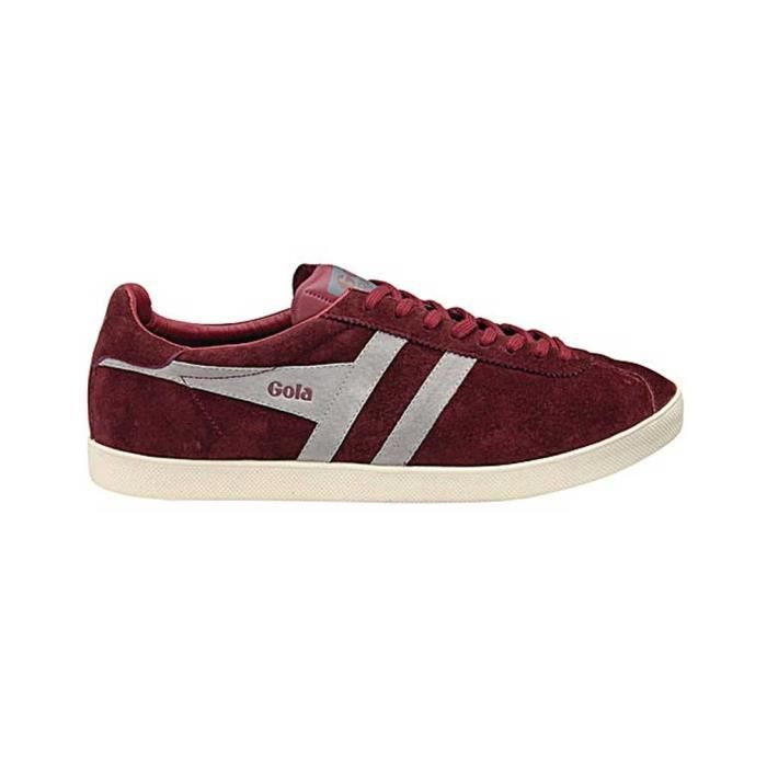 Homme Baskets Gola Burgundy Cool basses Grey 40 Pointure Chaussure Trainer qEvwx0dq