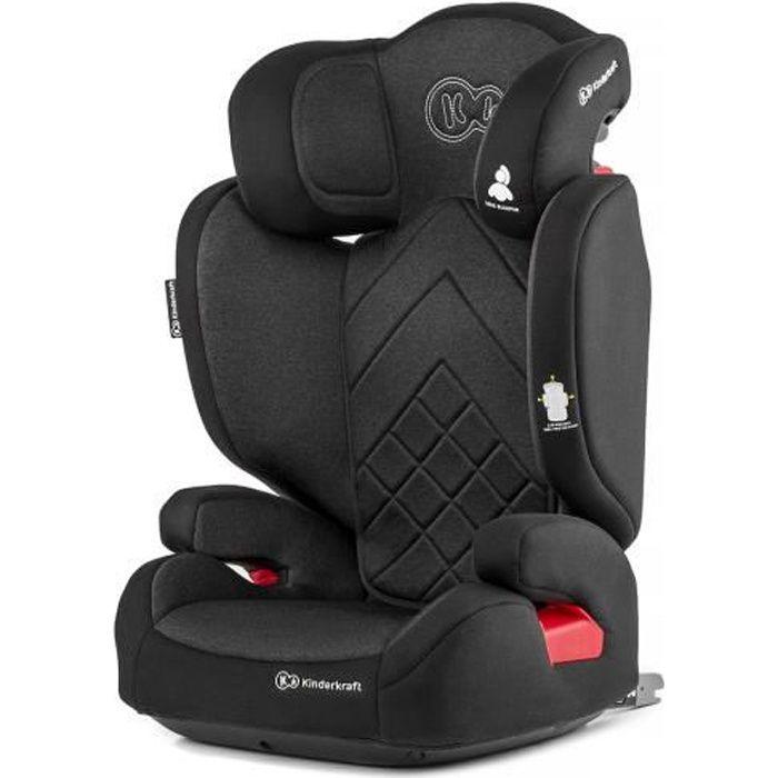 Chaise pour Enfant Siège de Voiture 9-36 kg Isofix Kinderkraft Oneto3 Noir Neuf