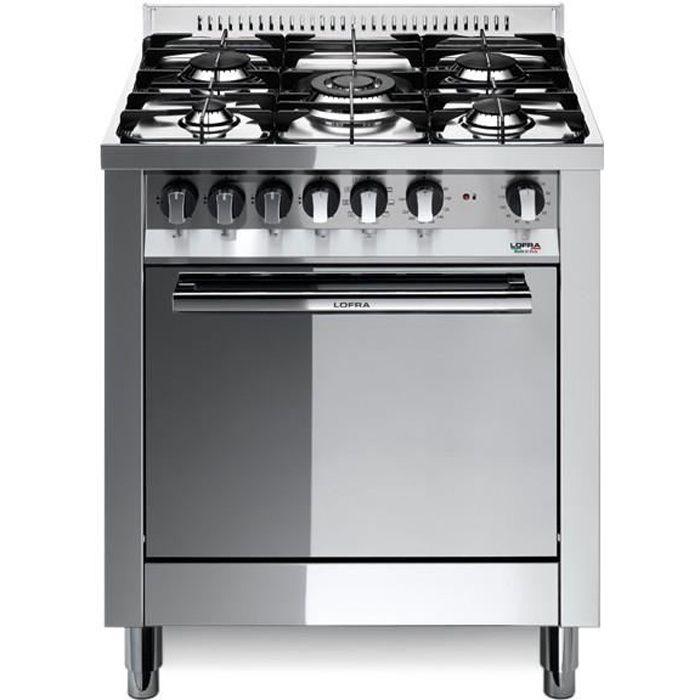 PLAQUE MIXTE LOFRA M76MF-C 70x60 cuisinière AVEC poli miroir -