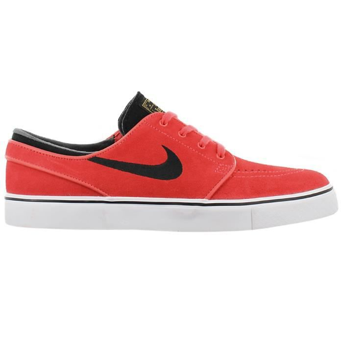 new product 85e07 758a5 Nike Zoom Stefan Janoski 333824-801 Chaussures Homme Sneaker Baskets Rouge