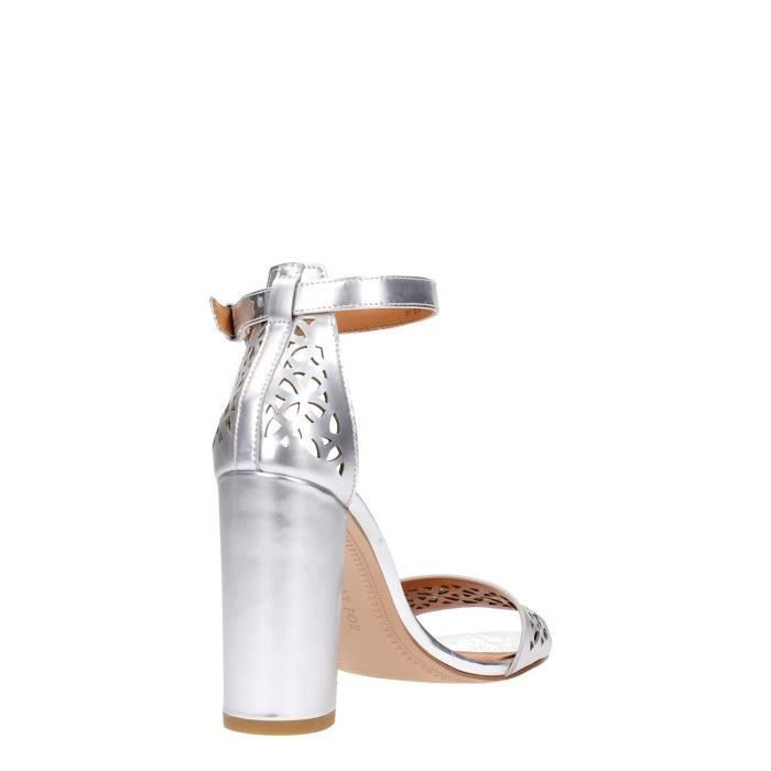 What For Sandal Femme Silver