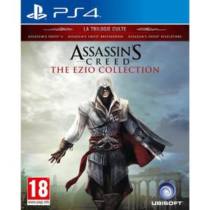 JEU PS4 Assassin's Creed The Ezio Collection Jeu PS4