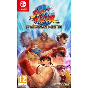 JEU NINTENDO SWITCH Street Fighter 30th Anniversary Collection Jeu Swi