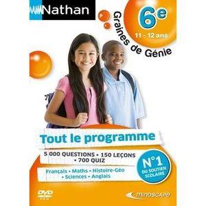 JEU PC NATHAN GRAINES DE GENIE 6EME 2010/2011 / Jeu PC