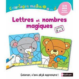LIVRE JEUX ACTIVITÉS Lettres et nombres magiques Petite section
