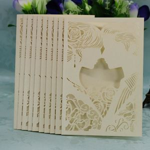 FAIRE-PART - INVITATION 20PC Enveloppe de carte d'invitation de mariage ro